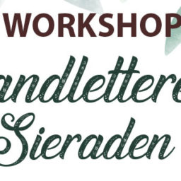 Workshop handletteren Walstraat 68