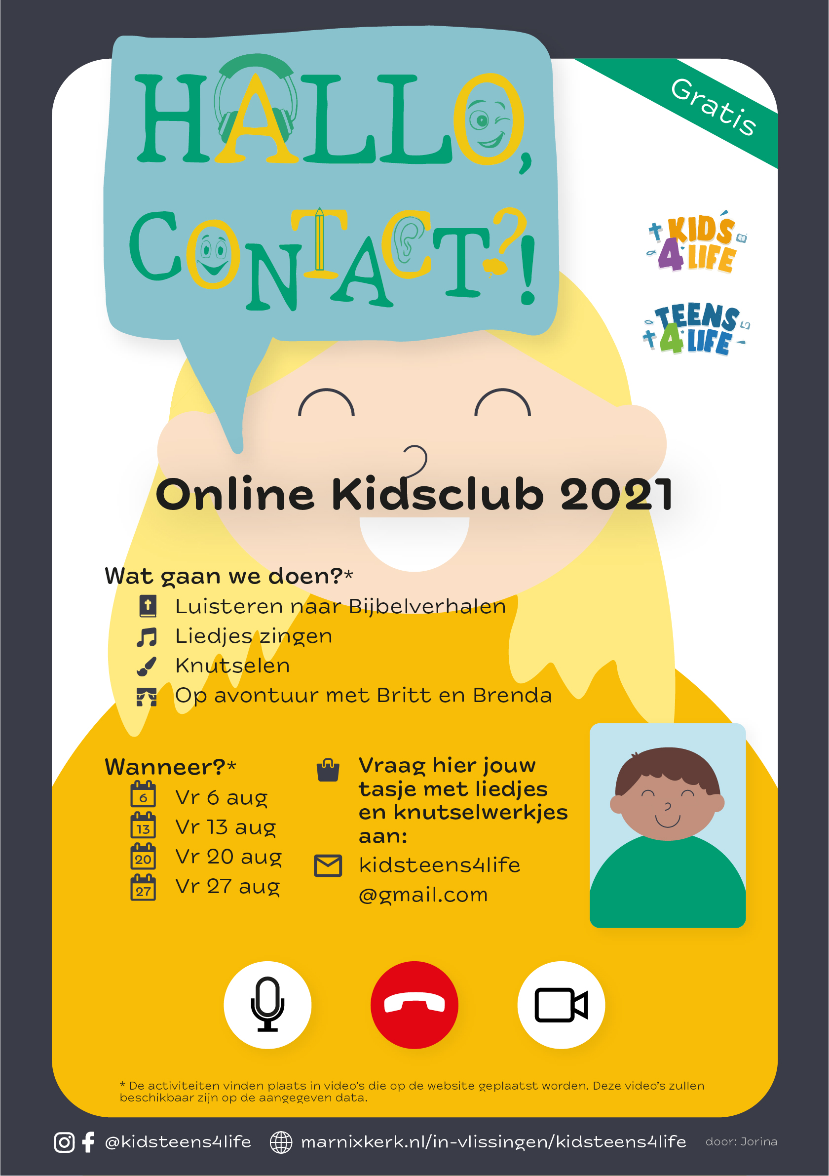 Kidsclub 2021 Flyer